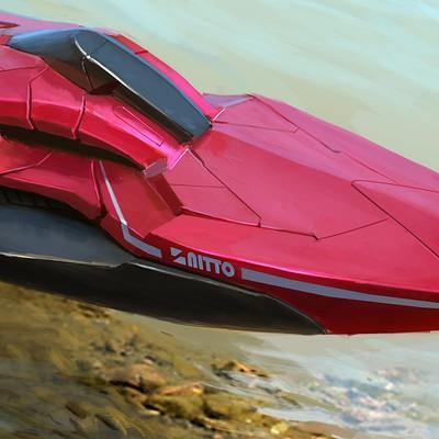 Michal kus raceboat design 1