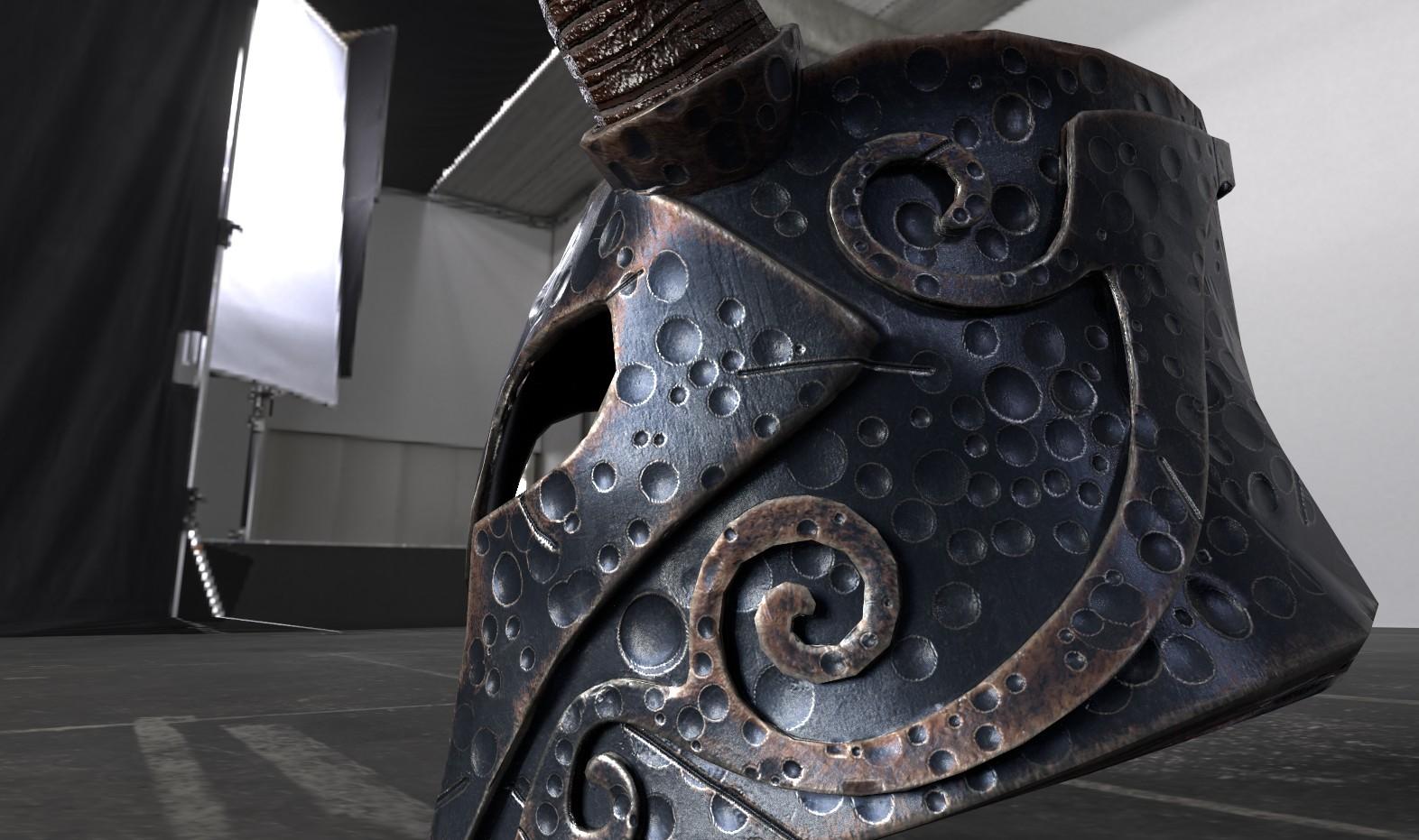 Manu D Gowda - Helmet of Yngol, (Skyrim)