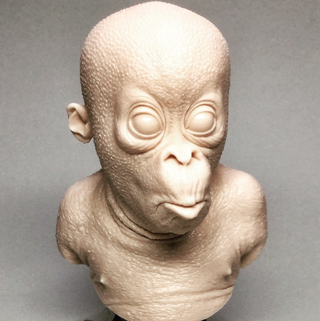 Orangutan/ cast resin
