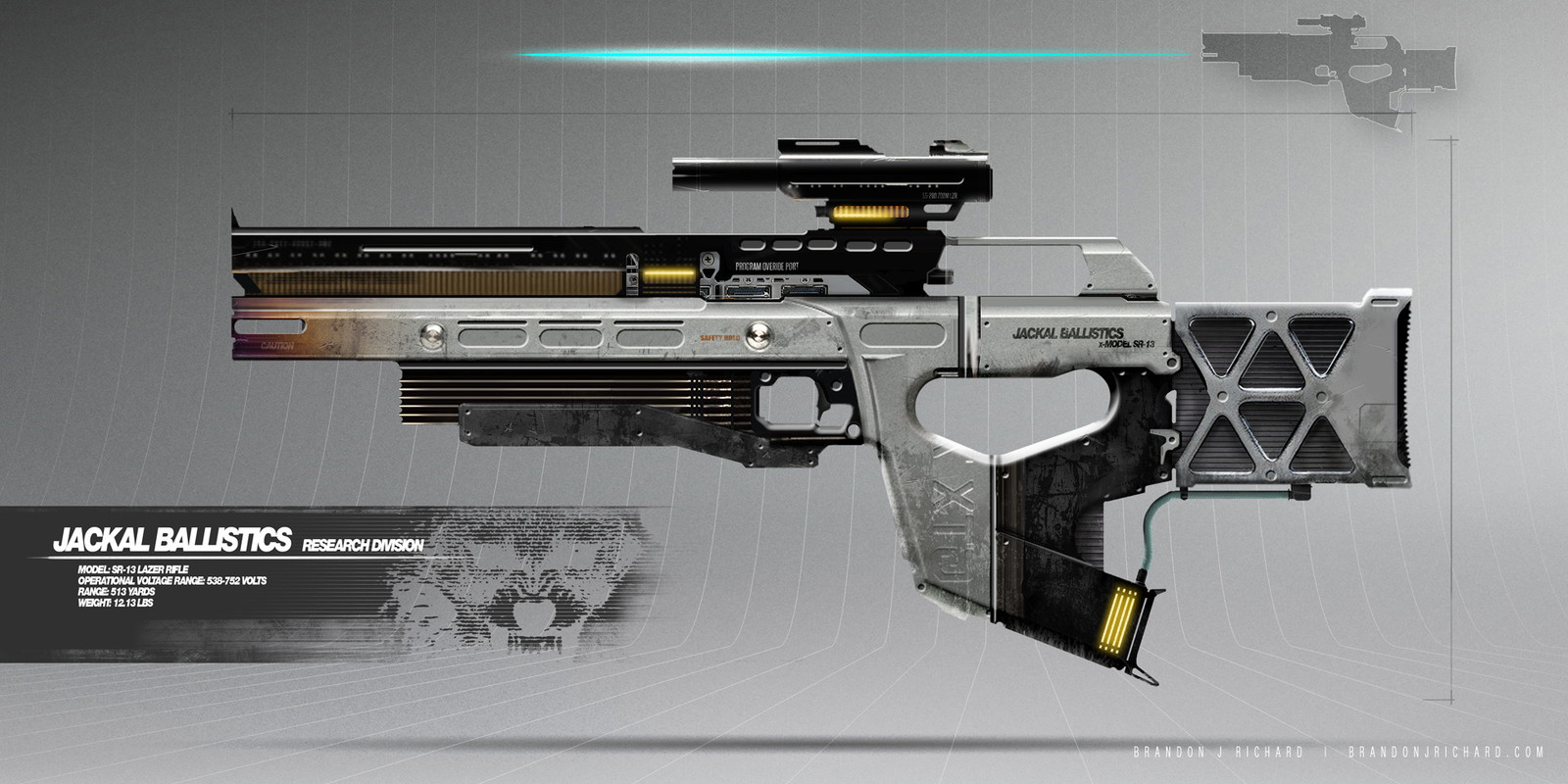 Jackal Lazer Rifle