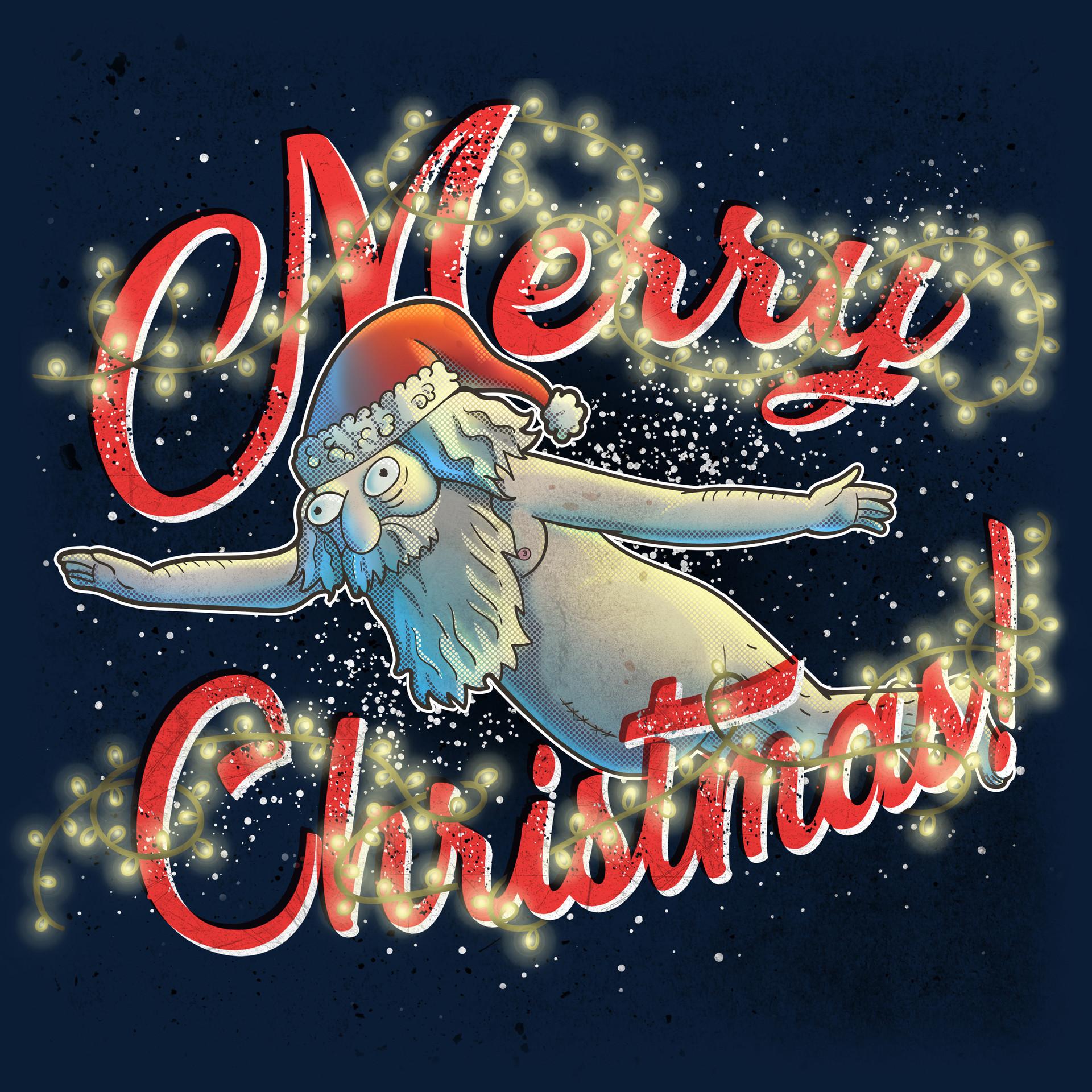 Felipe blanco merry christmas high