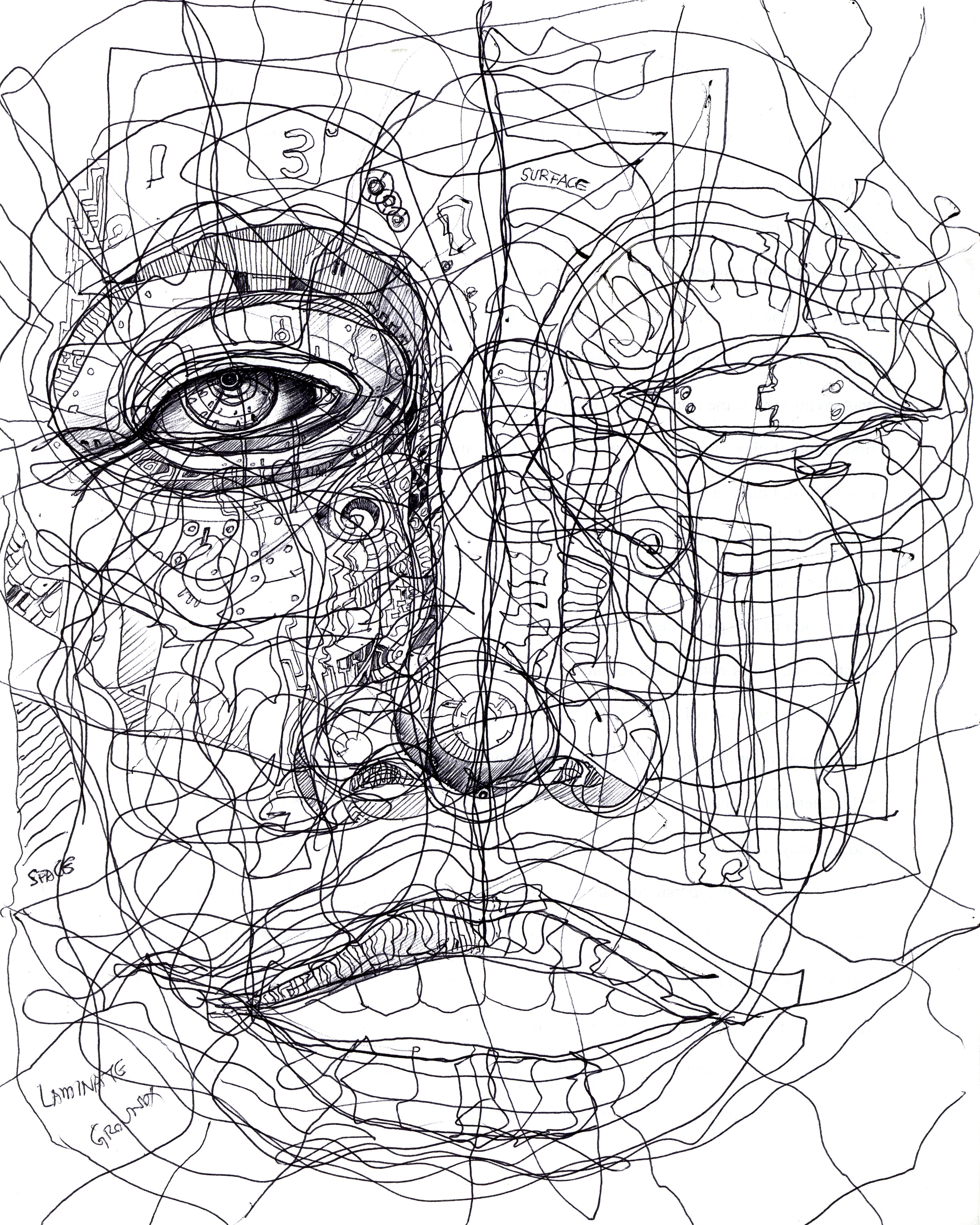 (2008) Face of Lines, Mindless or Madness