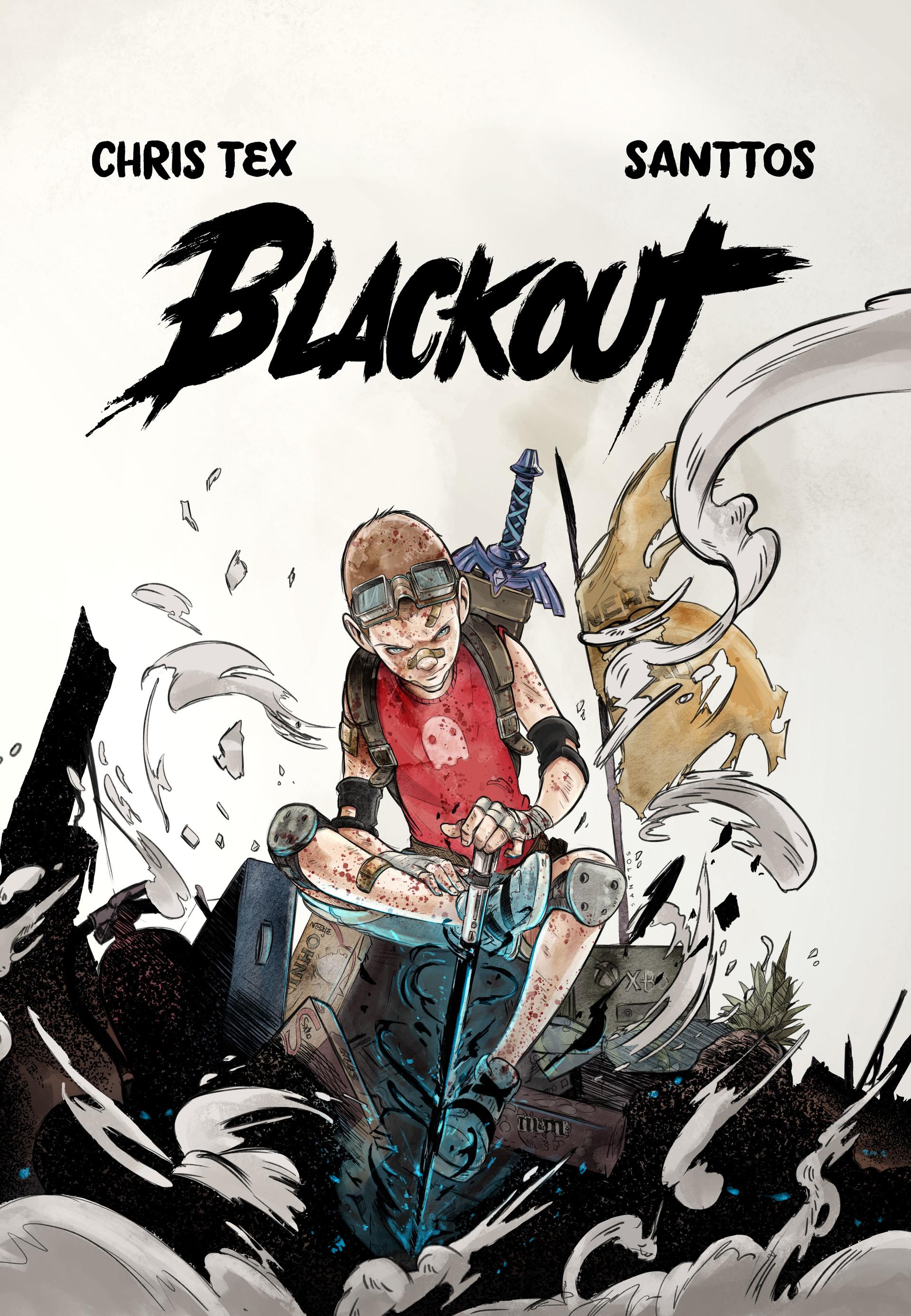 Santtos capa final blackout