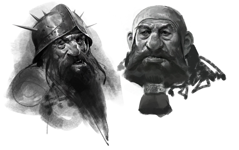 Dwarfs sketches