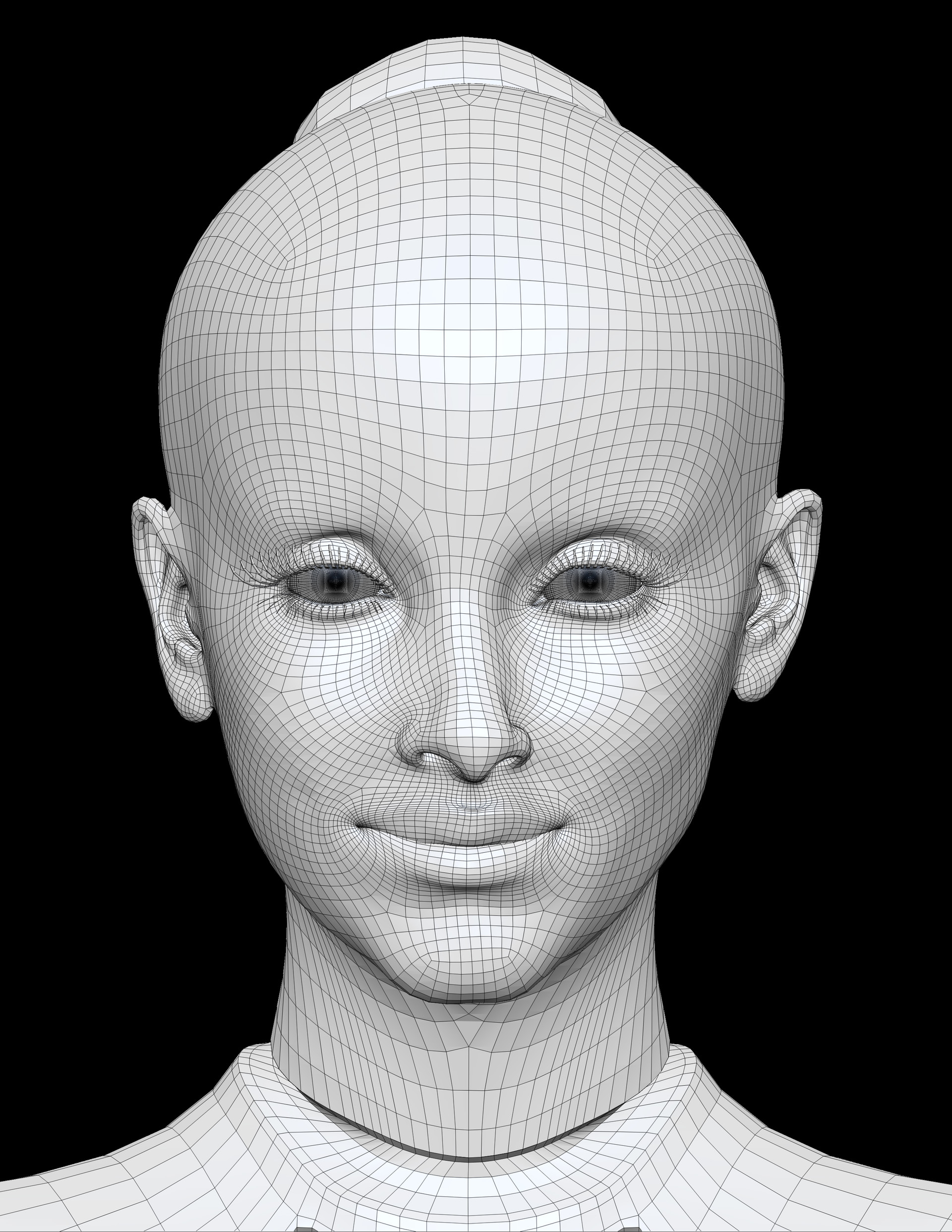 ArtStation - Female bot, Marie-Pier Bouffard