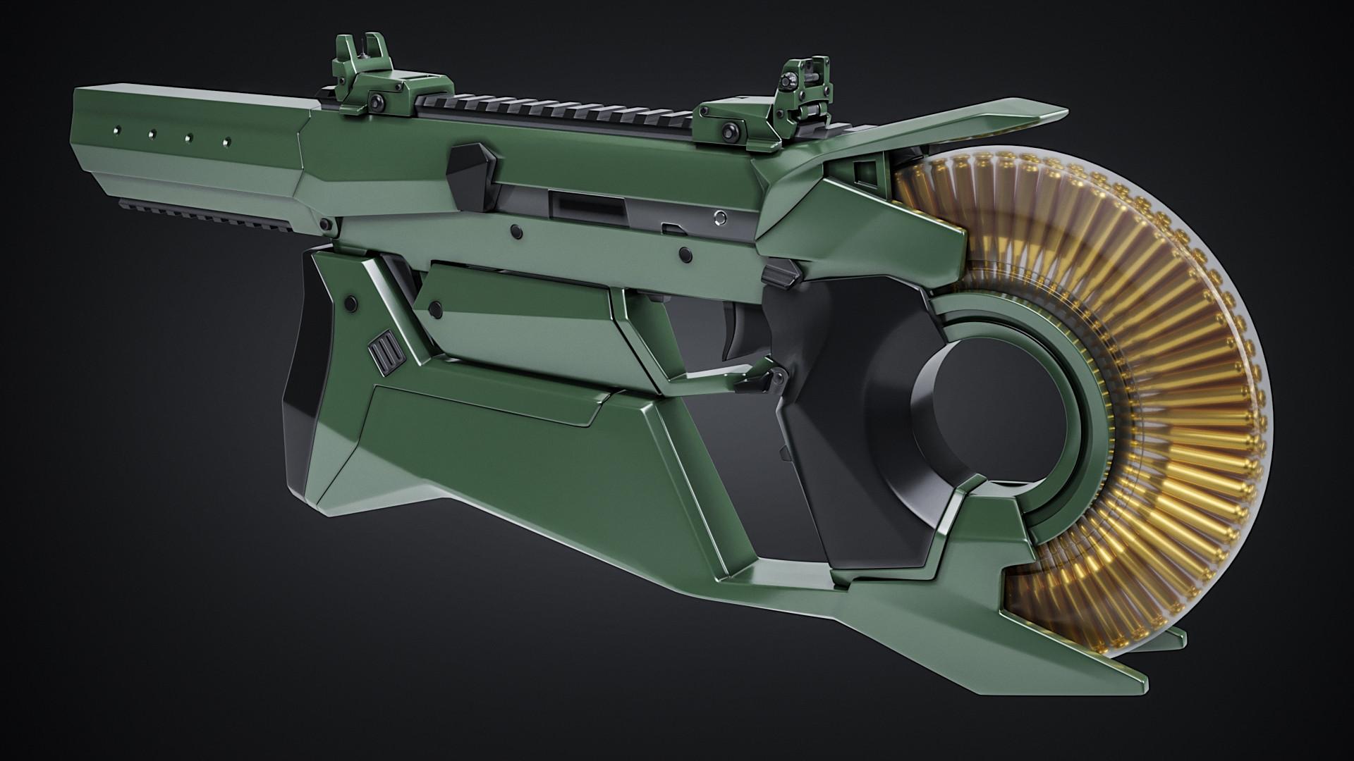Rustam Arazov - Futuristic Gun