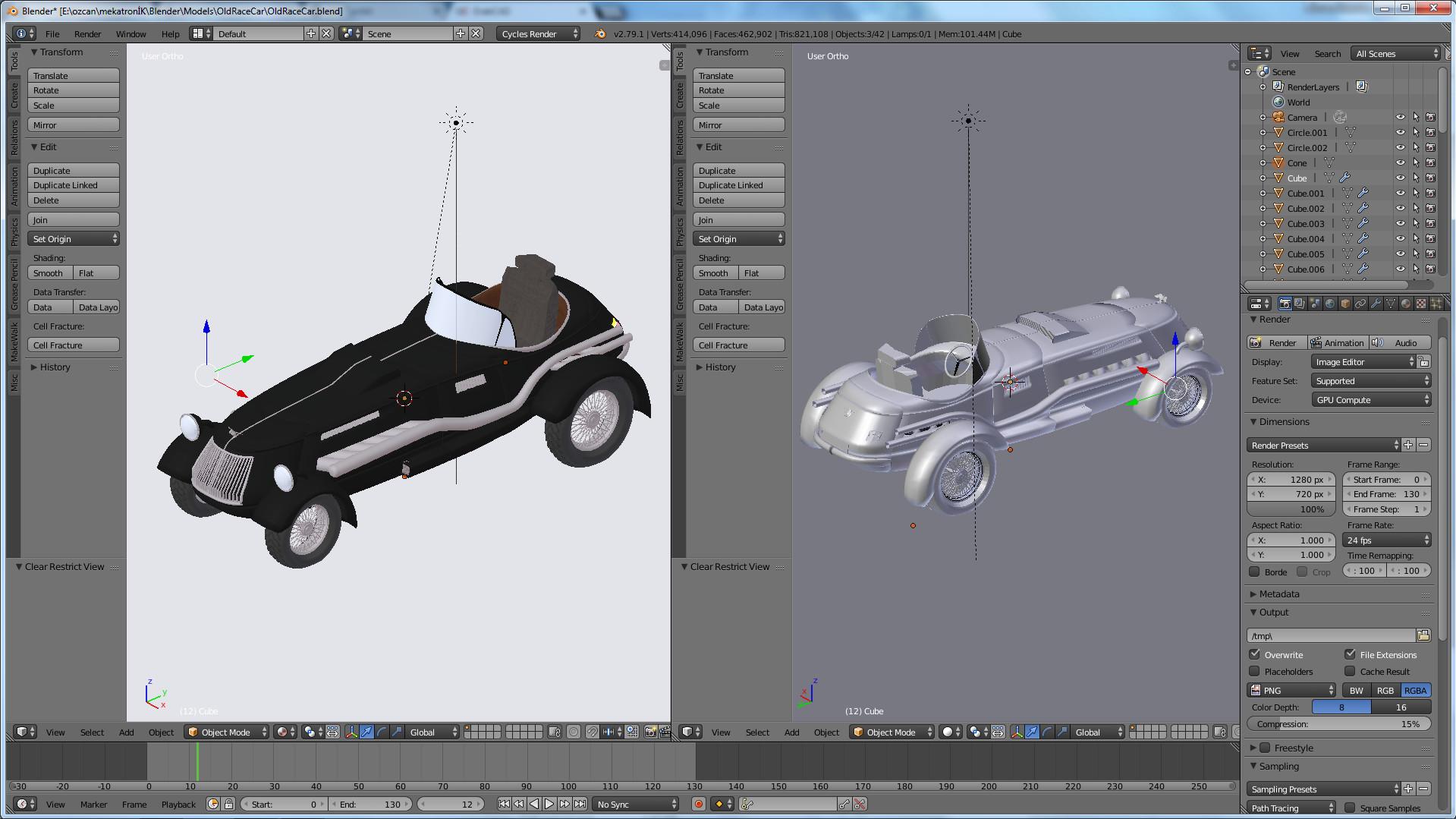 ArtStation - Old Race Car, özcan özaltın