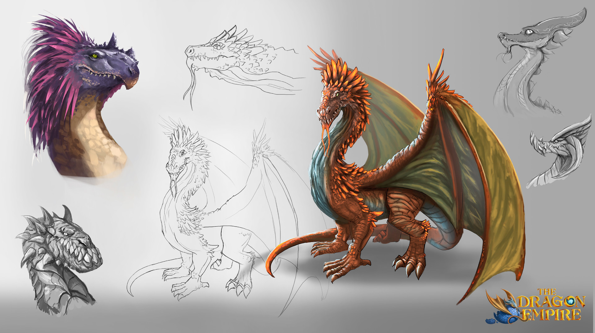 danny kundzinsh conceptual design and illustration dragon