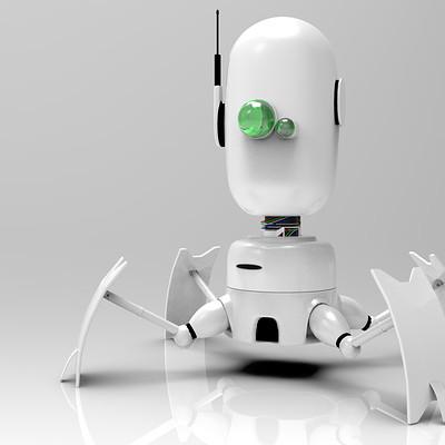 Luis valle robot render