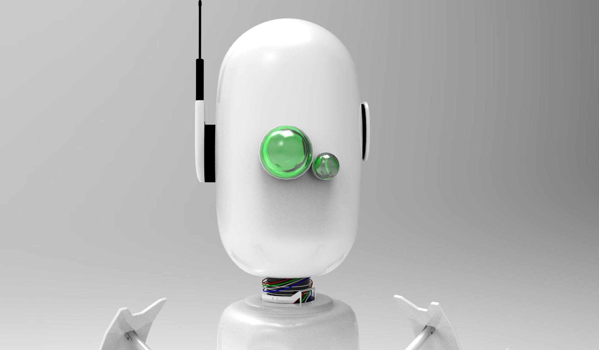 Luis valle robot render 3