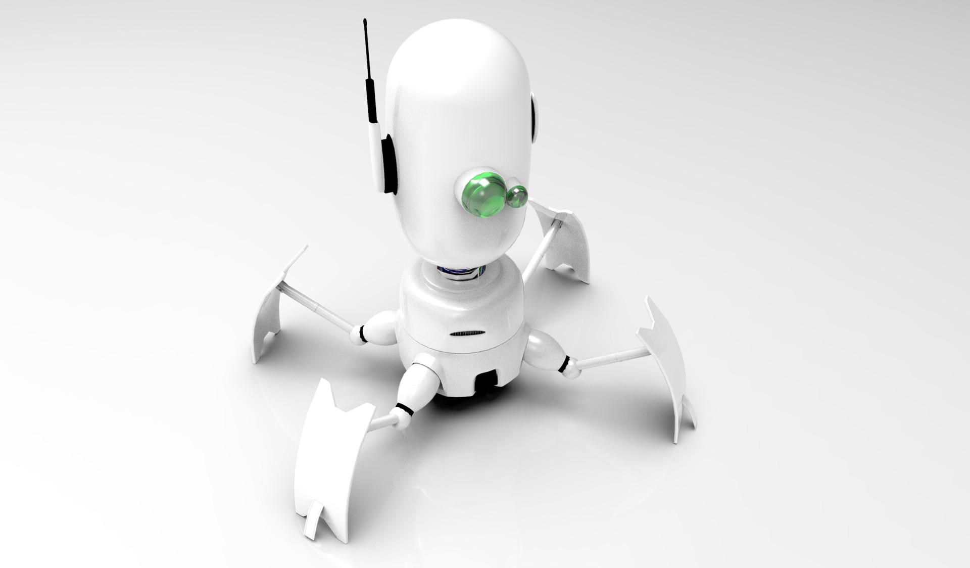 Luis valle robot render 4