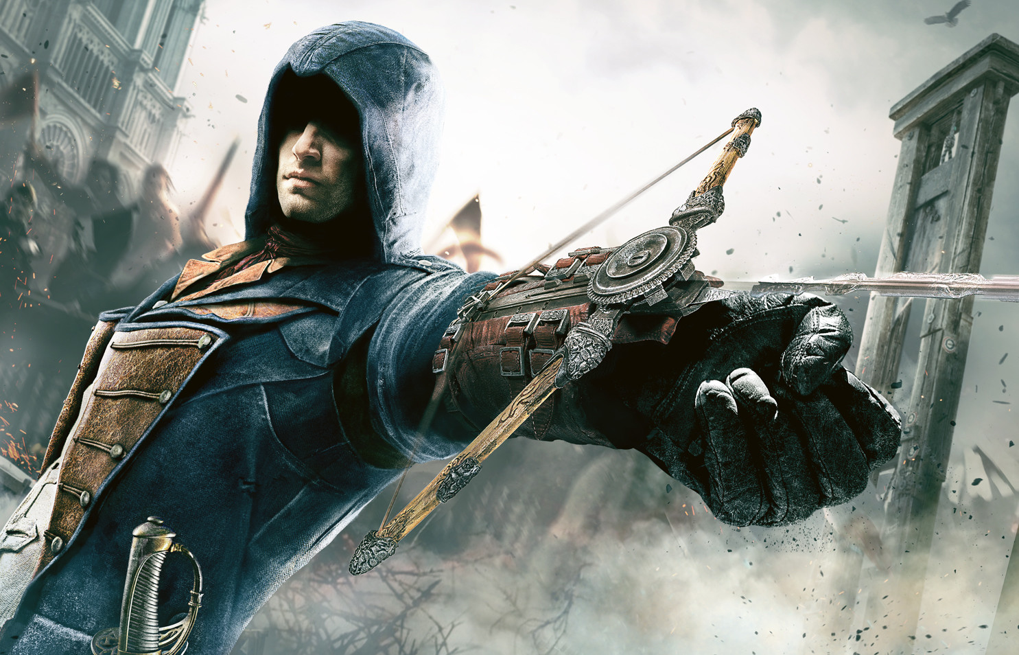 Assassin's Creed Unity Marketing Art