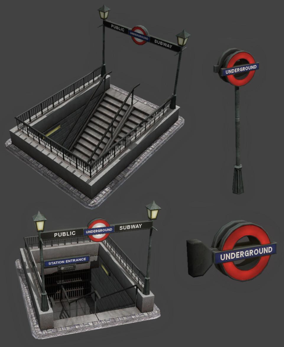 David sanhueza davidsanhueza eon subway props