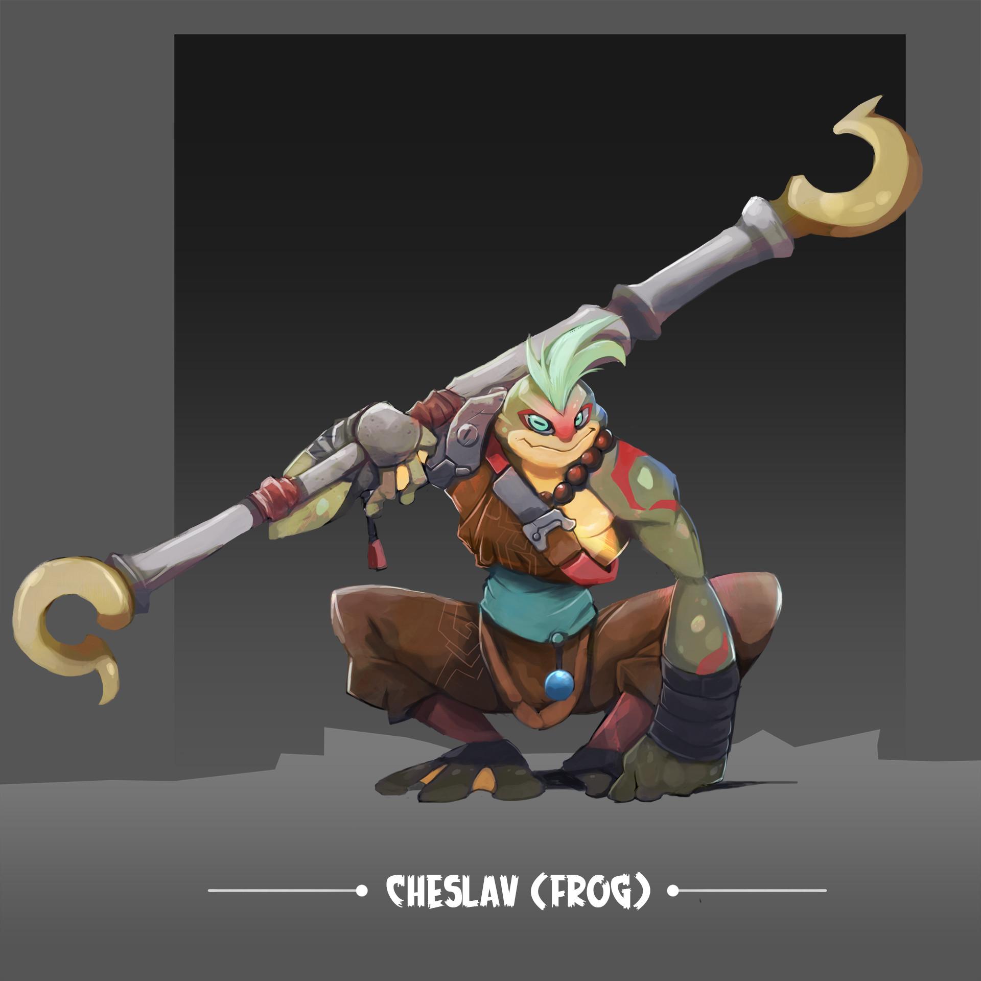 Ibrahim idris cheslav