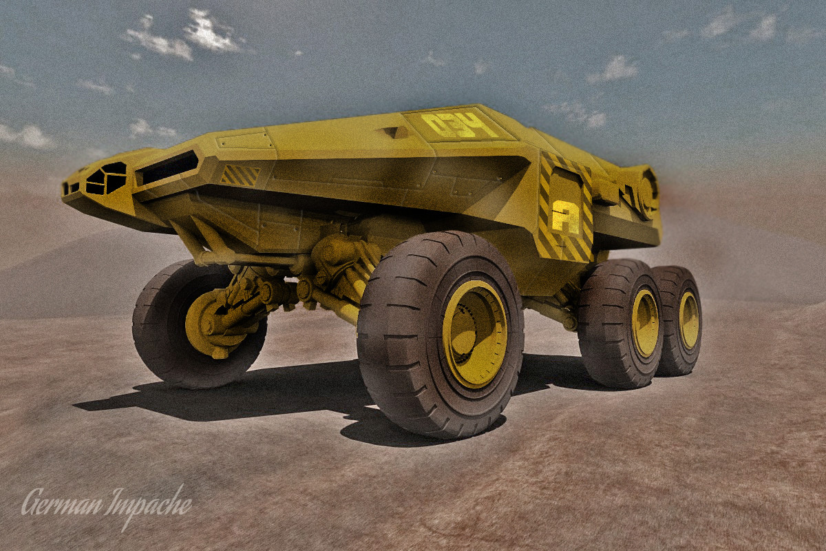 Big BOY! giant truck