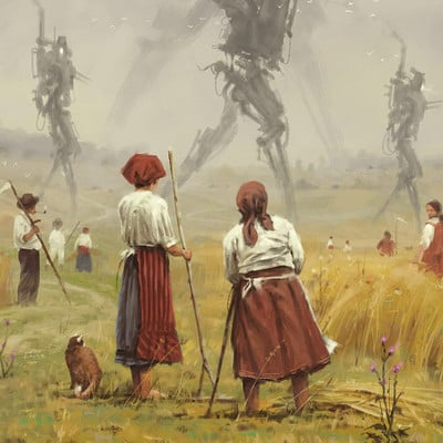 1920 - The march of the Iron Scarecrows