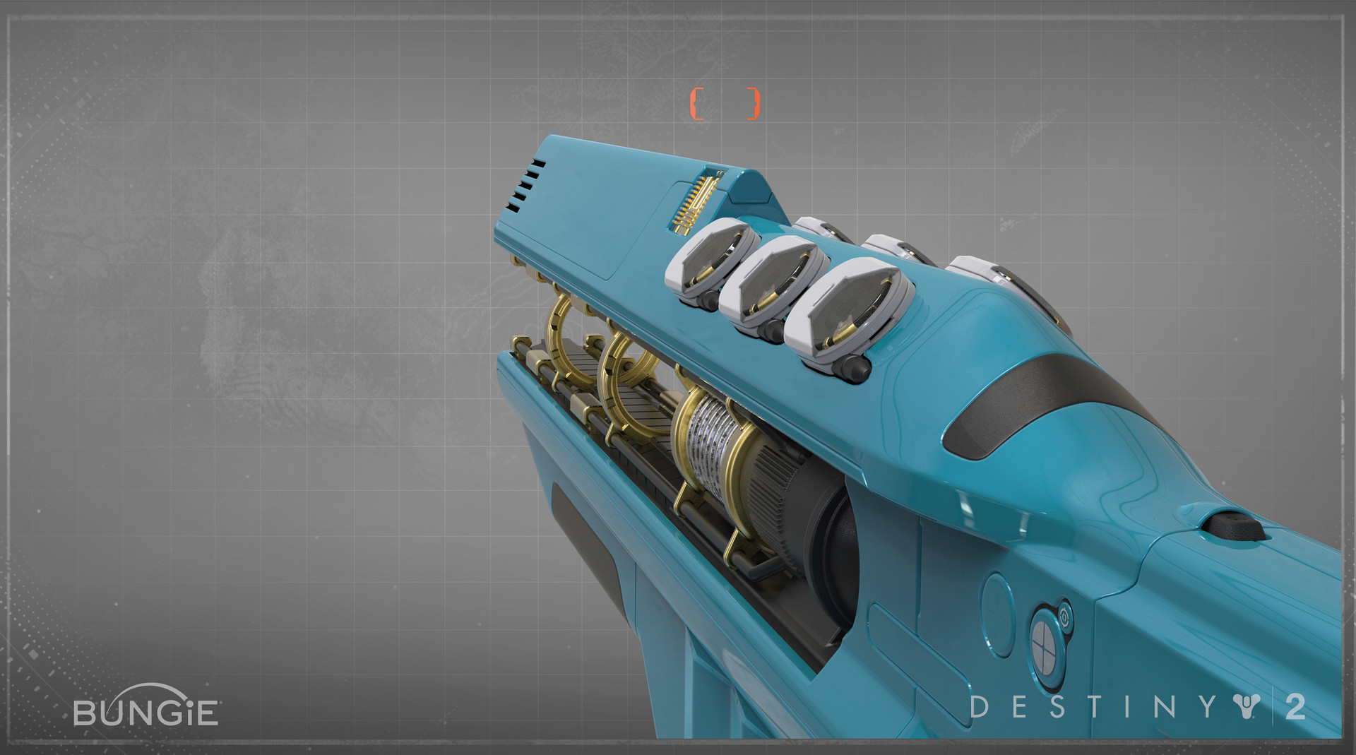 ArtStation - Destiny 2 : Exotic Fusion Rifle - Merciless
