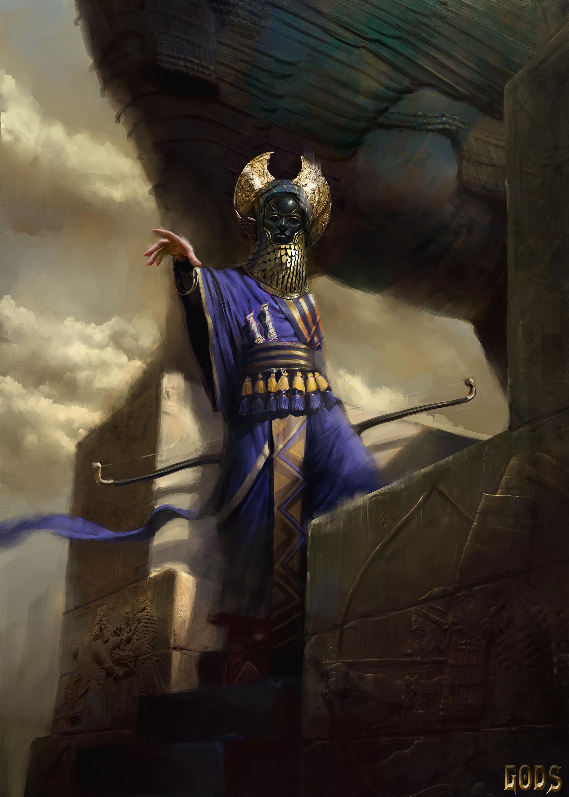Pierre raveneau babylonian archersm