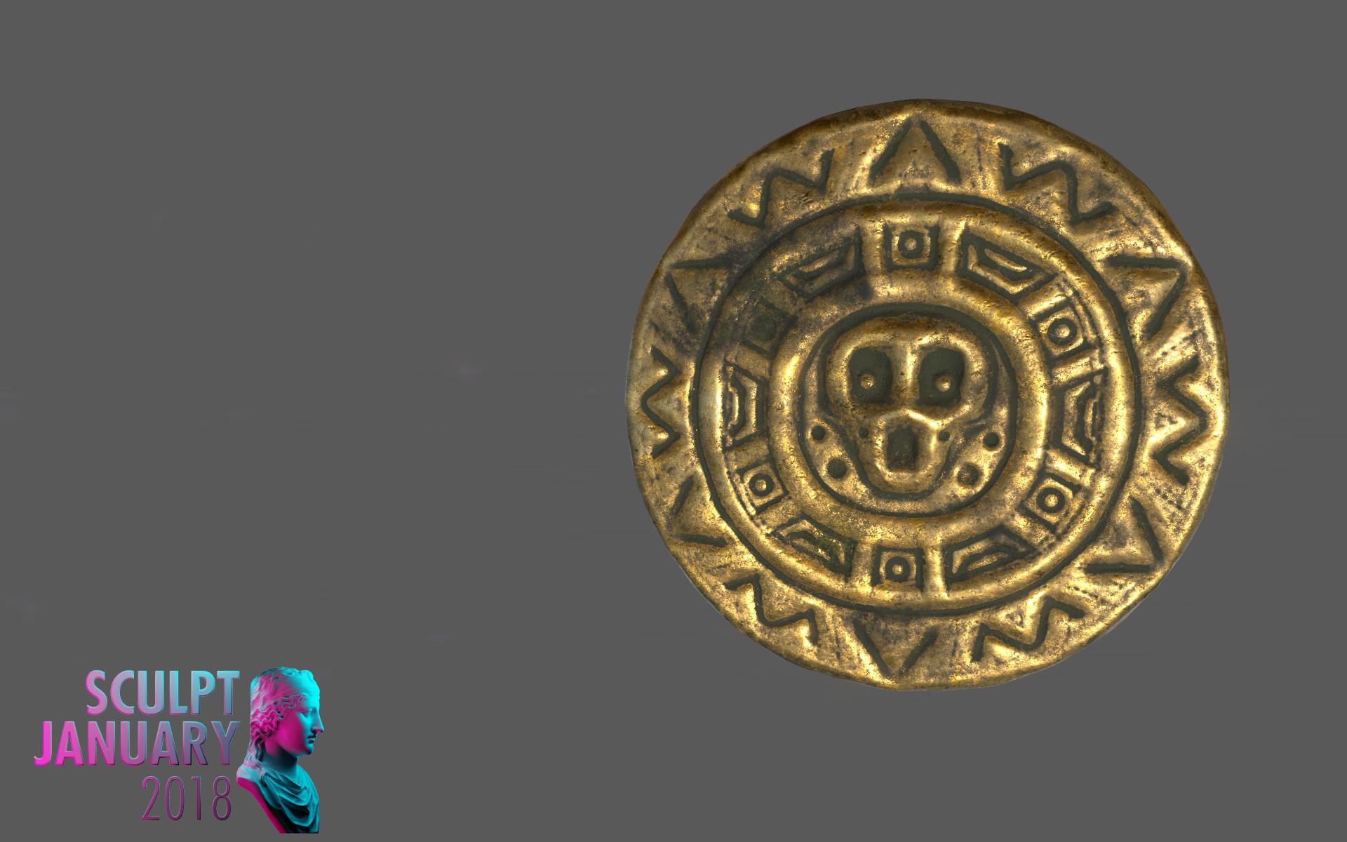 Matej chalachan ancient coin