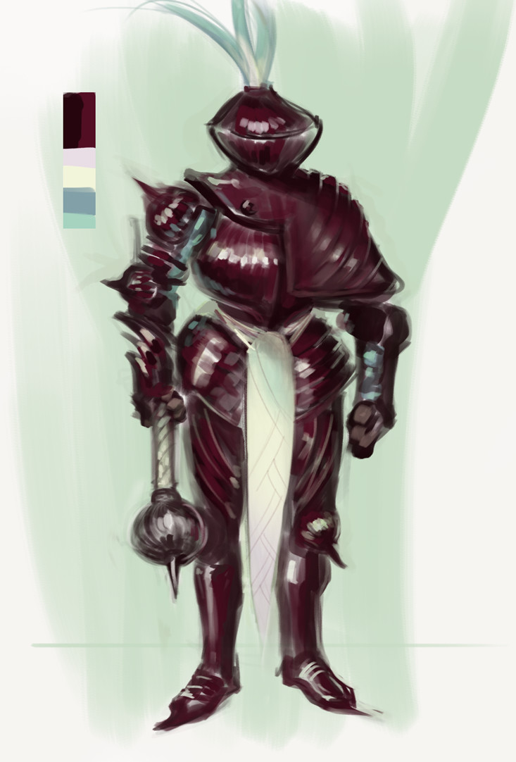 Red Onion Knight