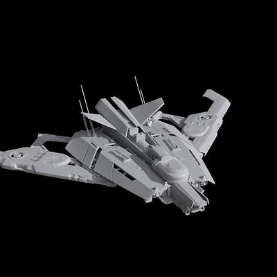 Holger schulz spaceship doodle