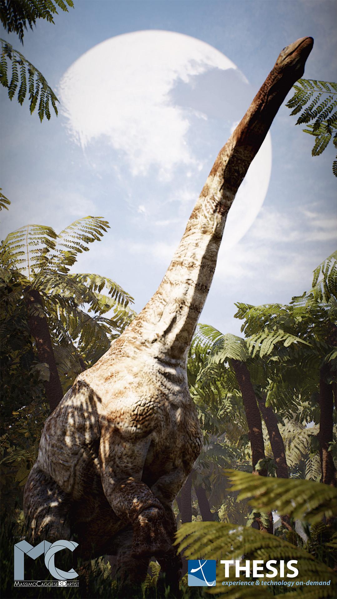 Prehistoric Habitat (Unreal Engine 4). [dinos made by F. Manucci]