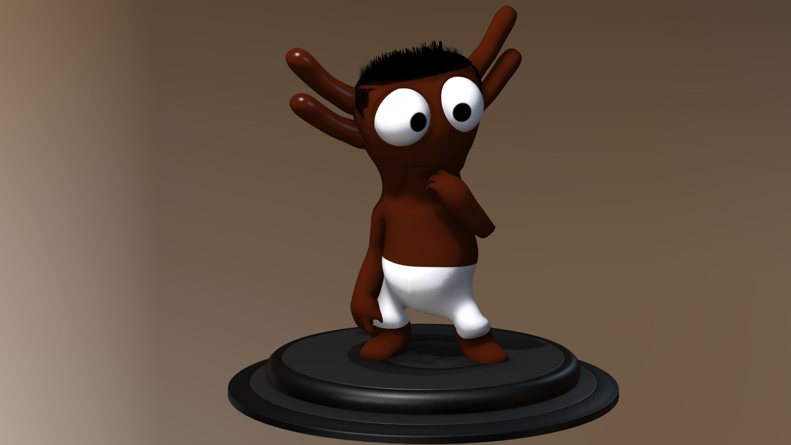 character,3d,go2bo,creatures,zbrush,iclone7 blackm