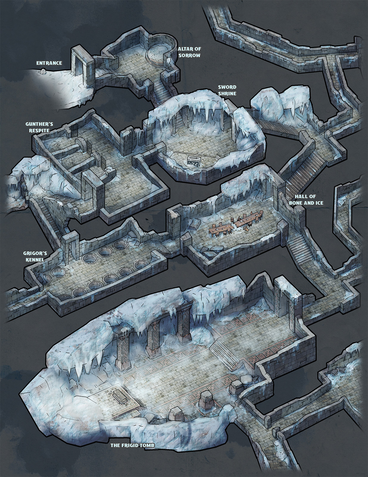 Dungeon of the Frozen King