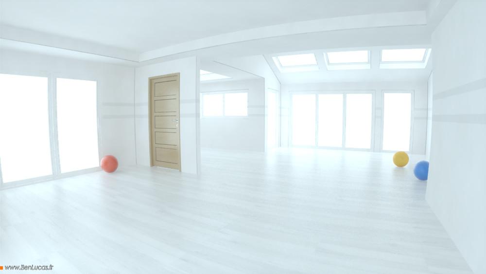 Marketing  render of the tutorial room
