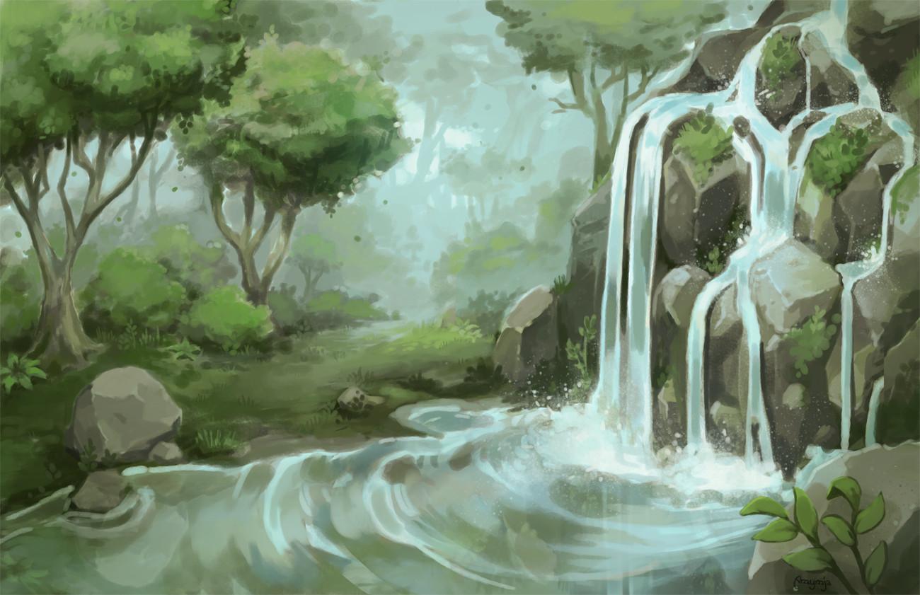 Amy gerardy waterfall