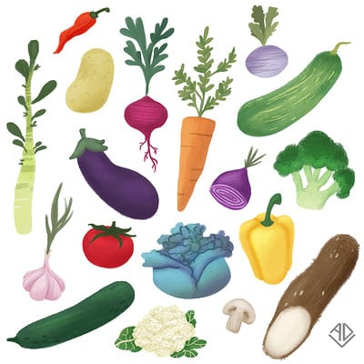 Aline dutra veggies