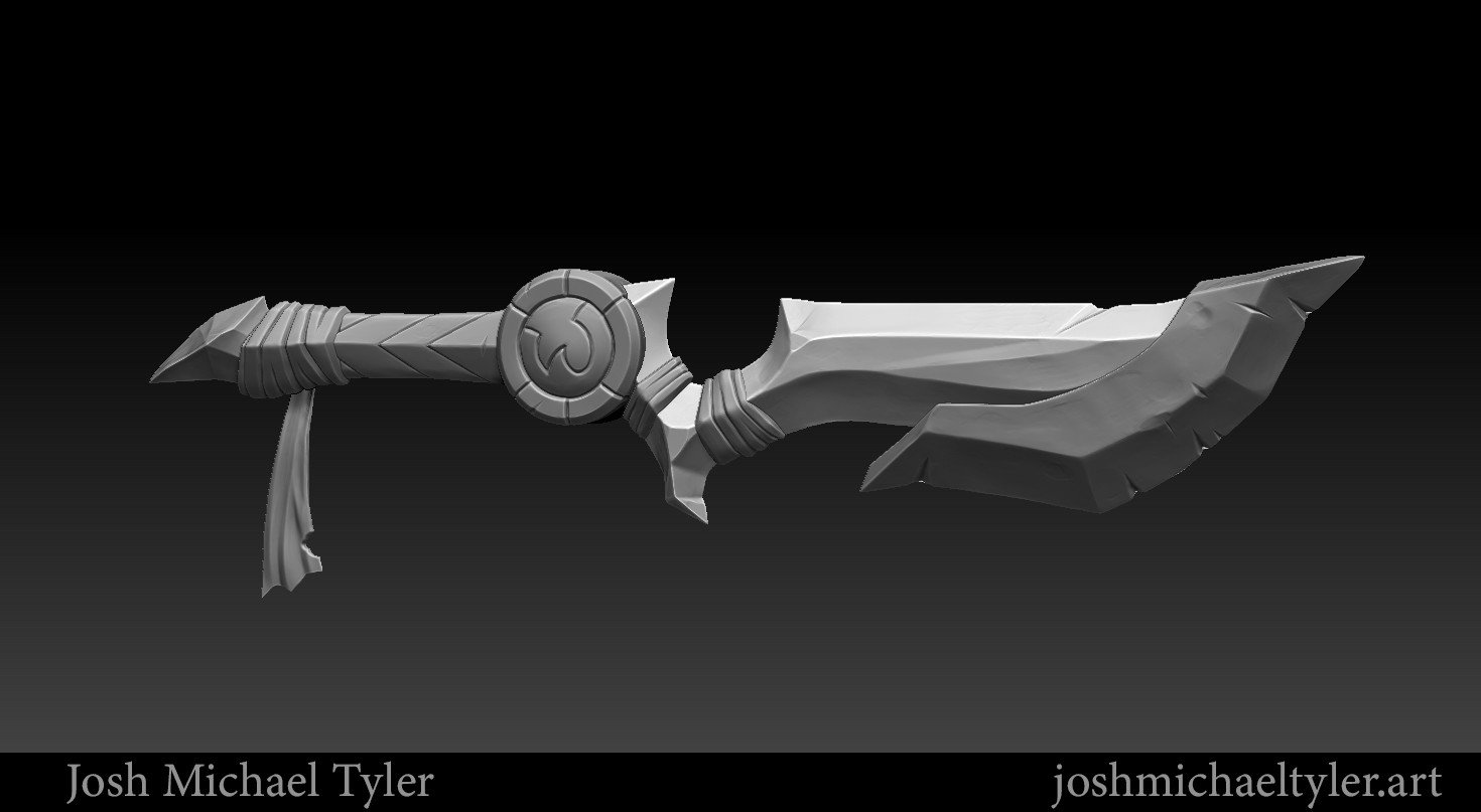 Josh tyler zbrush document