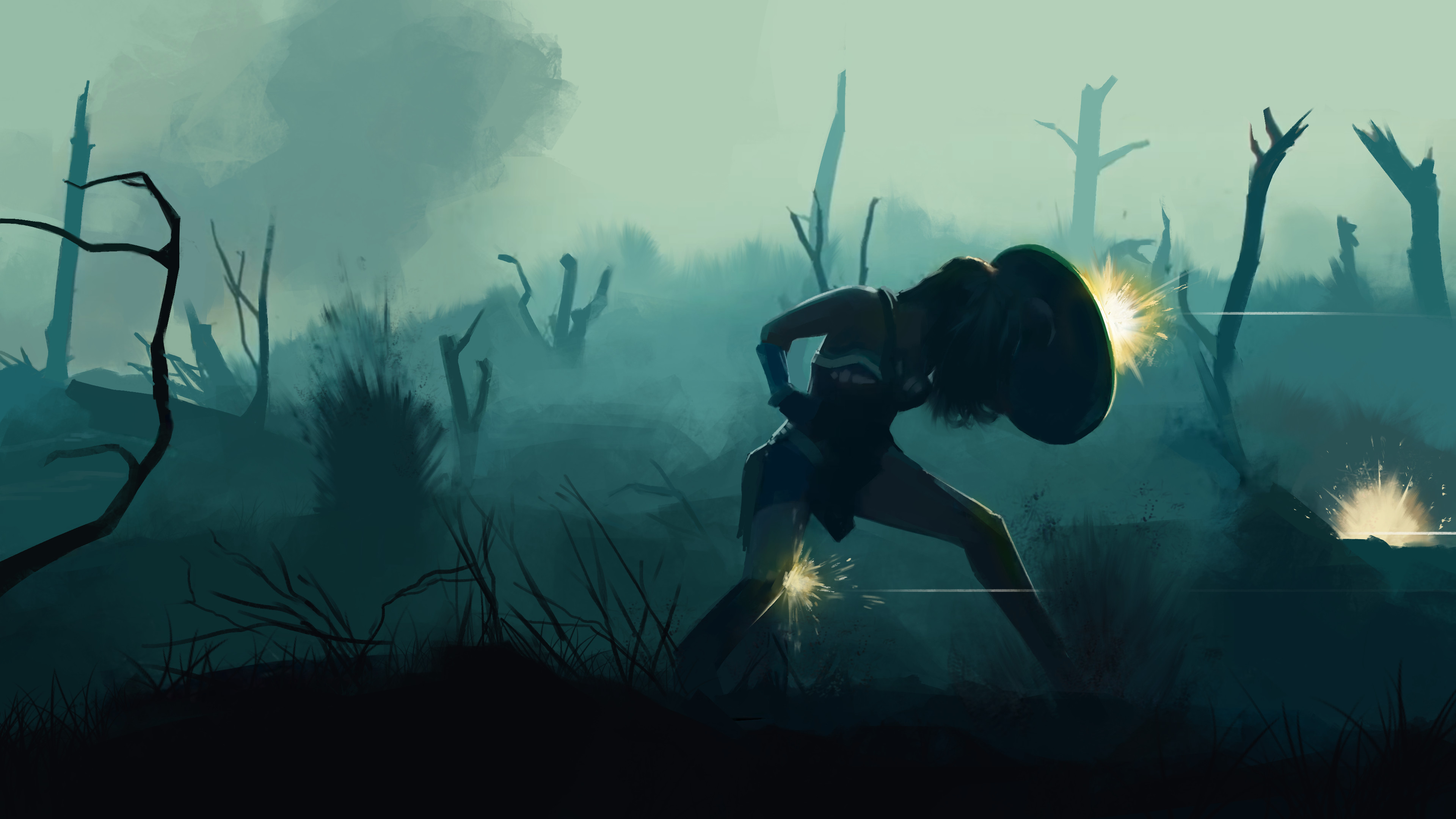 Wonder Woman Keyframe Study
