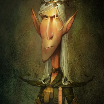 Ivan nikulin the best portrait of elf