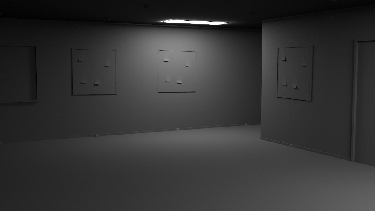 Interior render of the office generator