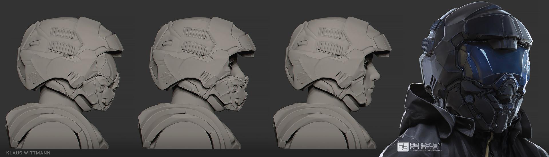 Klaus wittmann helmet