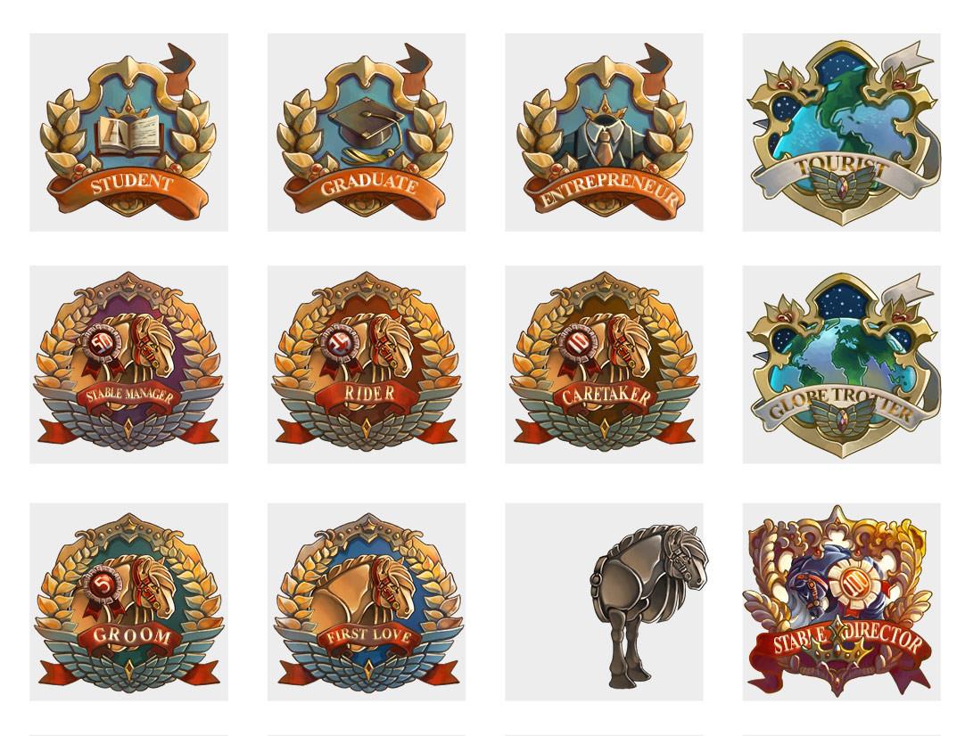 Badge Designs Finished