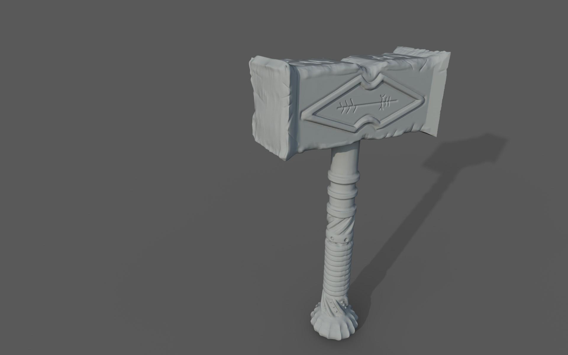 Matej chalachan hammer sculpt2