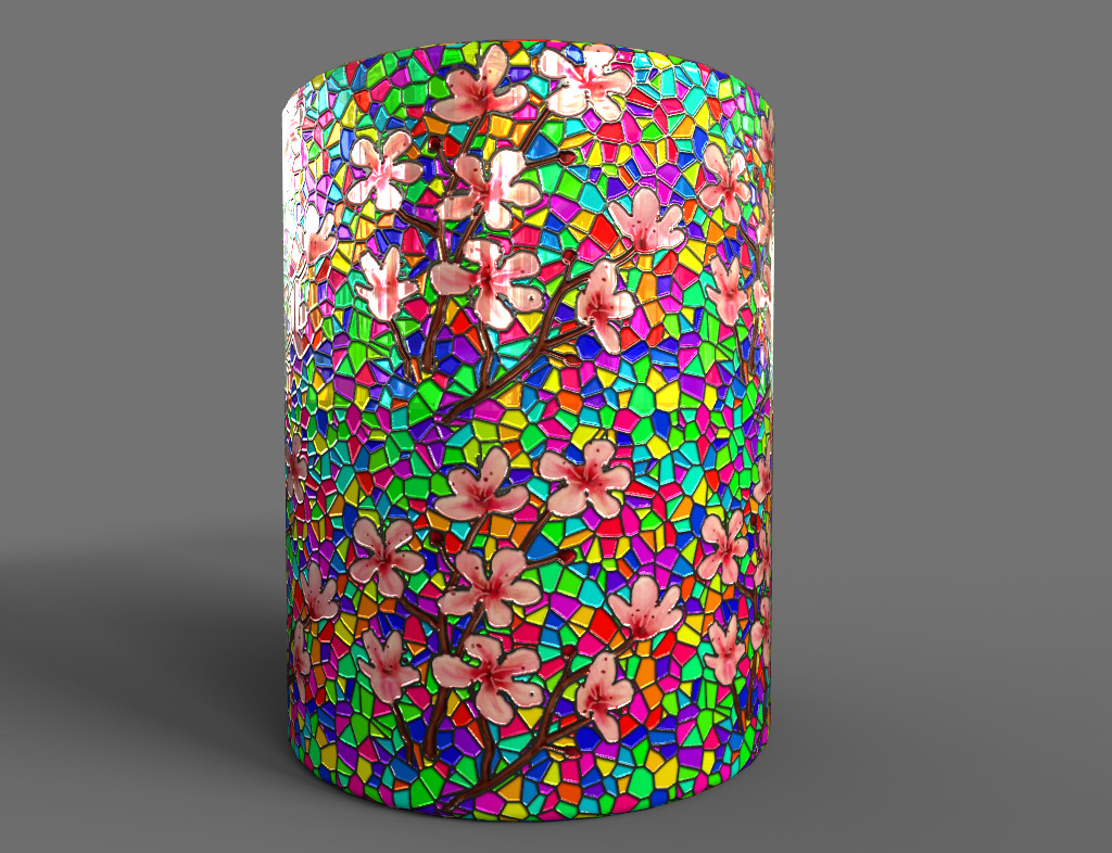 Substance Share Material - Stained Glass from Image