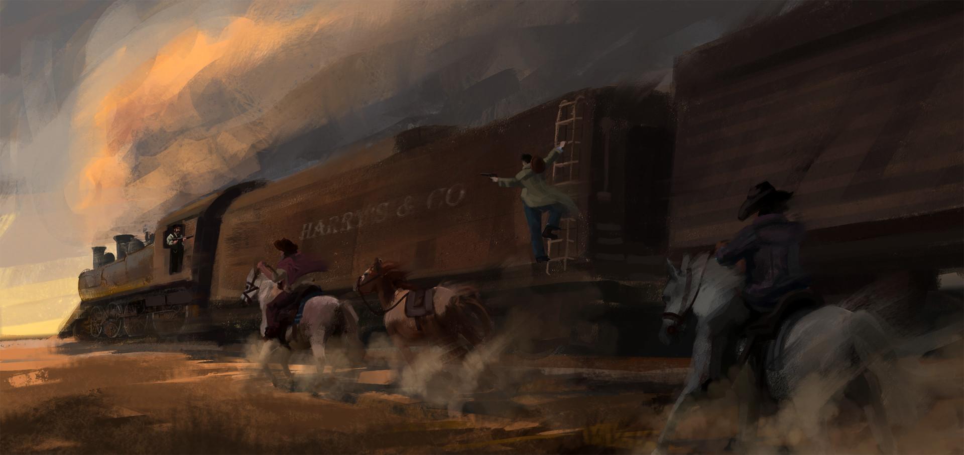 Jack dowell train heist m