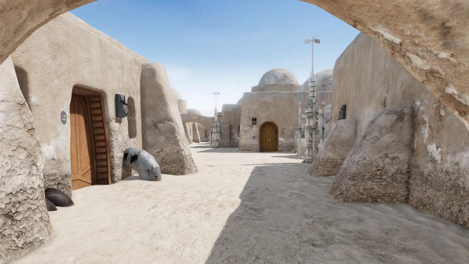 Tatooine Street (Unity)