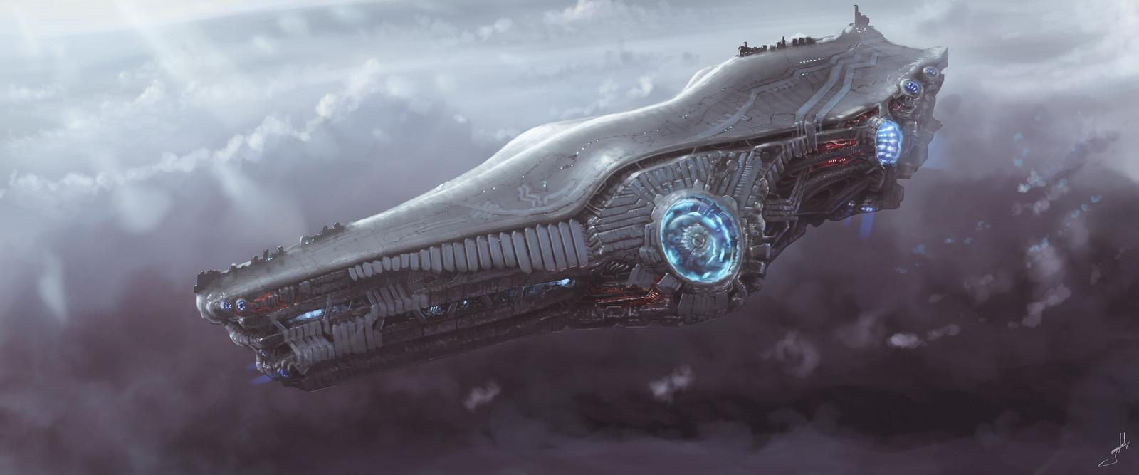 Gravity Spaceship