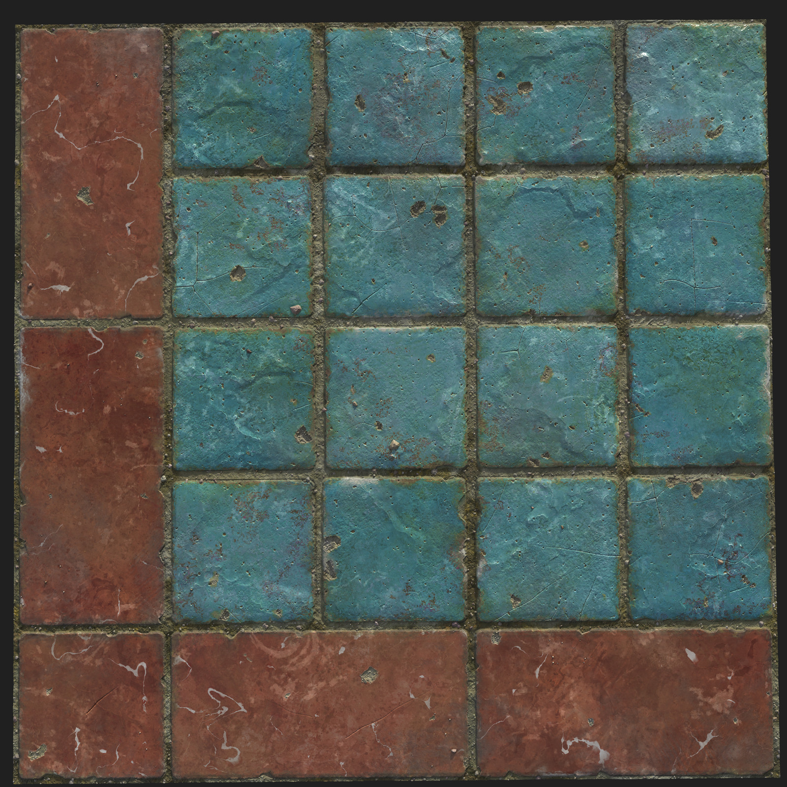 Random_Tiles_01 - 100% Substance Designer