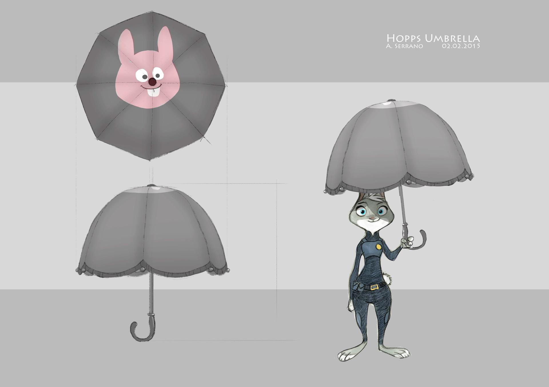 Judy's umbrella