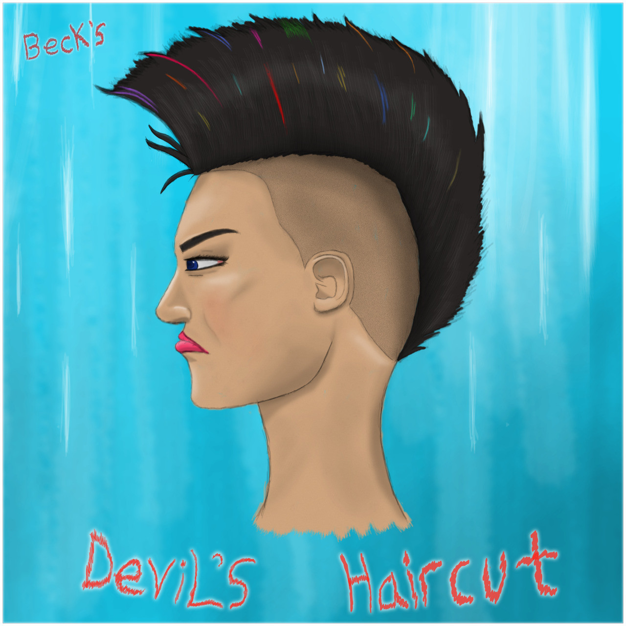Joseph Lyon Devils Haircut Tribute
