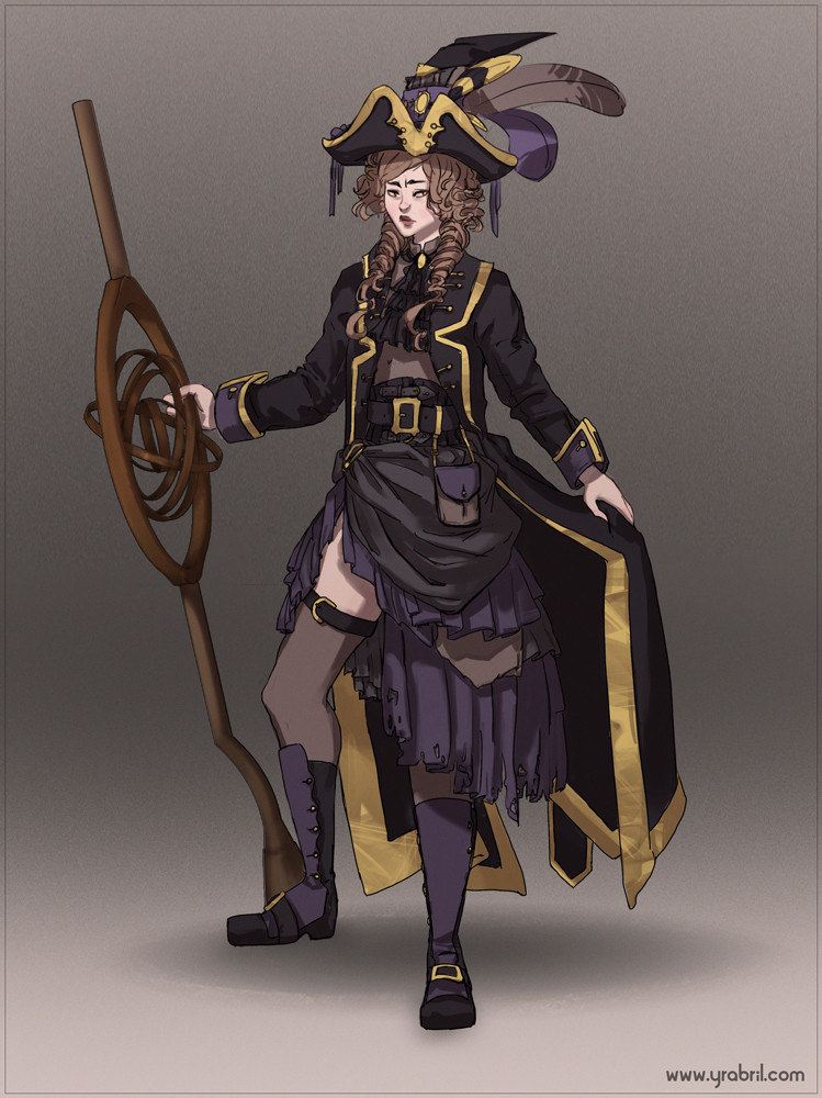 Isabella - Character and prop design