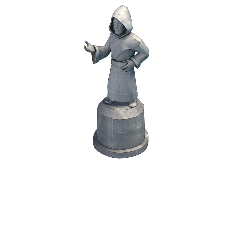 Vitalii samoilenko render statue2
