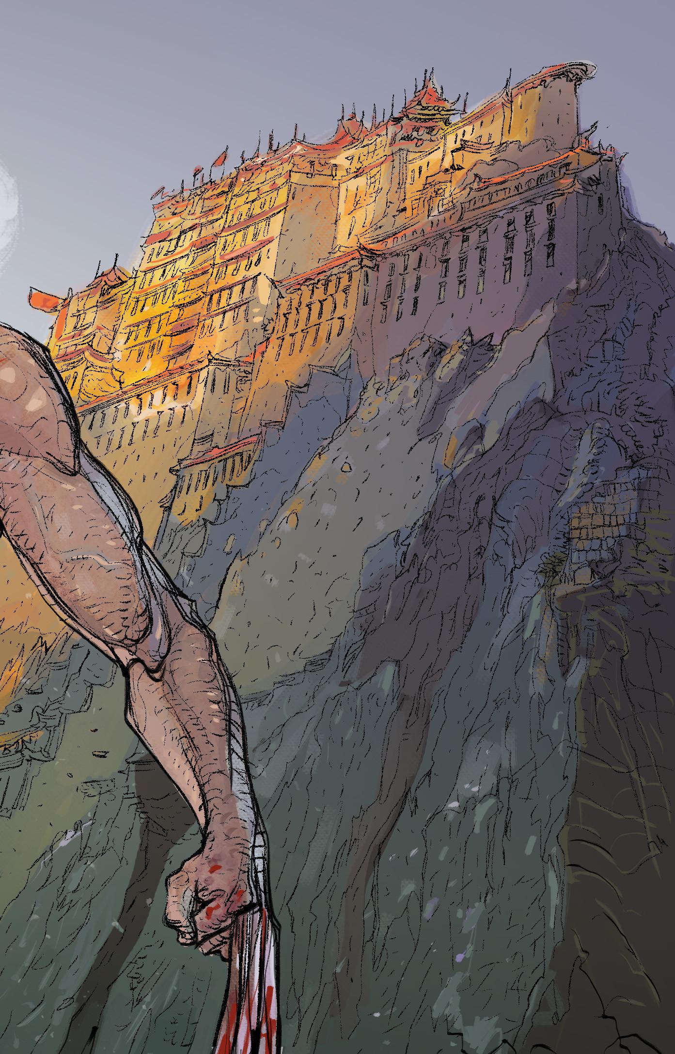 Daniele afferni daniele afferni artist wolverine tibet close1