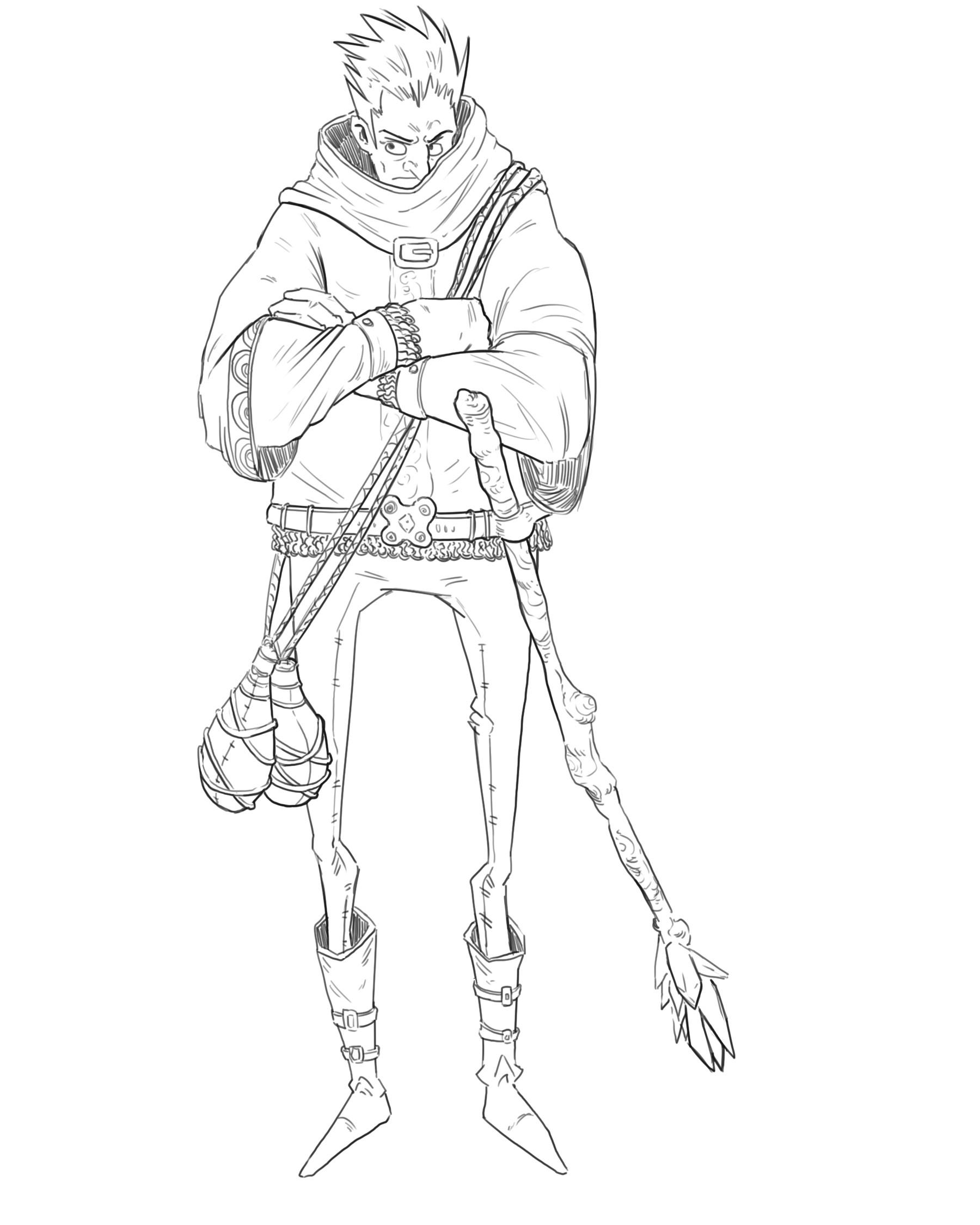 Fantasy Character Sketches 1