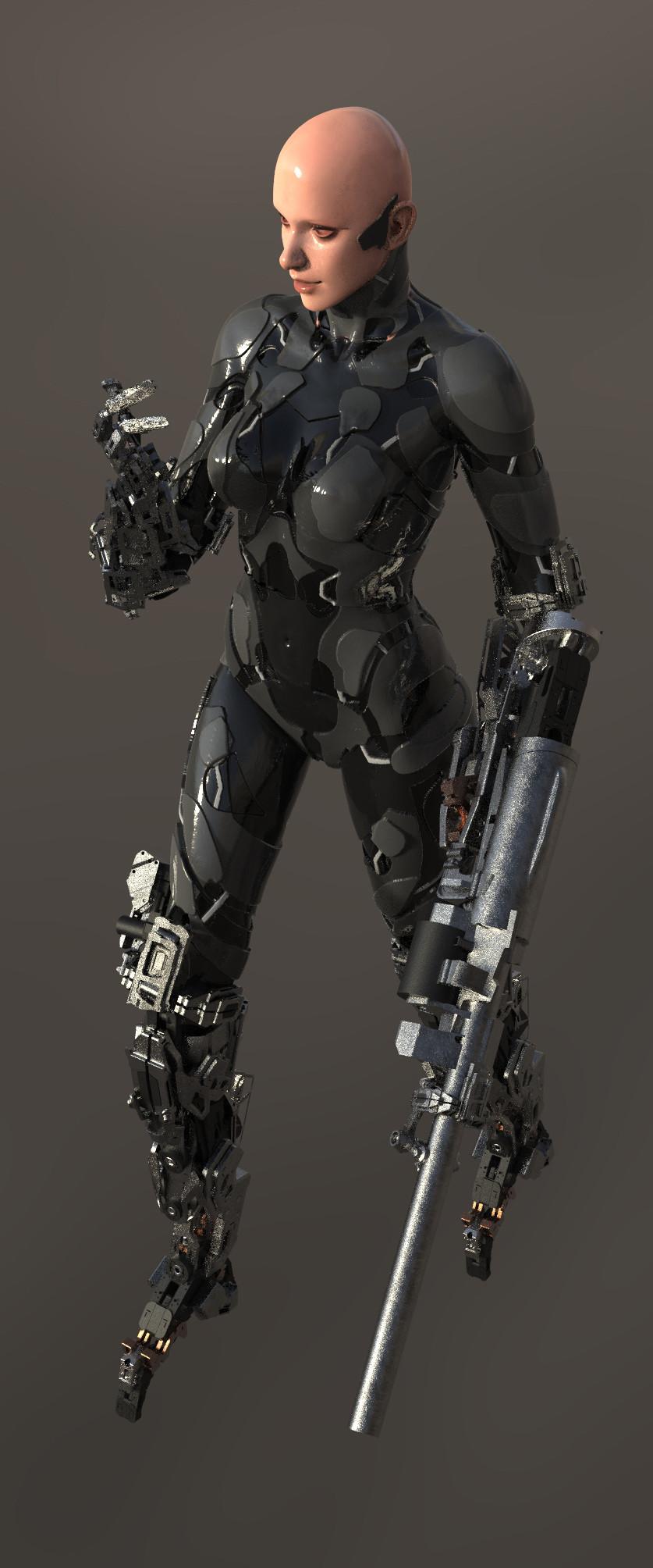 Tek tan robot 552